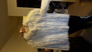 Ladies Fox Fur Coat