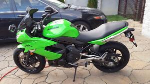 2011 Kawasaki Ninja ex 400 400r Bas Mileage et HID