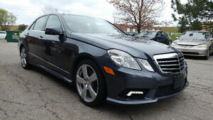2011 Mercedes-Benz E-Class E 350 NAVI REAR CAM LOADED