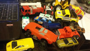 Dinky toys and cars
