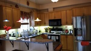 Full Kitchen Cabinets   Granite top with Breakfast bar for sale