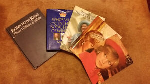 Princess Diana Books  and  Royal House of Windsor