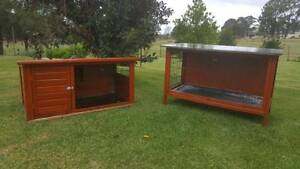 Rabbit Hutch- Sturdy and Waterproofed. Schofields Blacktown Area Preview