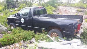 2003 Dodge Power Ram 2500 black Pickup Truck