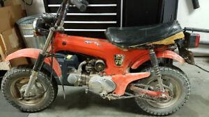1981 Honda CT 70