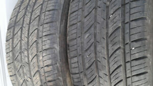 PAIRS OF TIRES 205/55R16/265/75R16/225/55R18