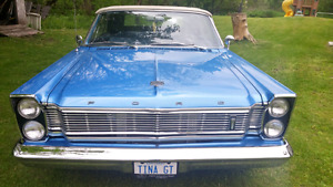 1965 Ford Galaxie 500, 390, Convertible