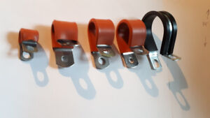 1250 unités SILICON P CLAMP STAINLESS STEEL