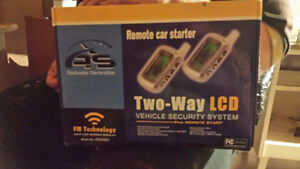 Car starter and security system-Brand new never used
