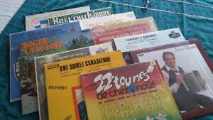 Disques vinyles (33 et 45 tours)