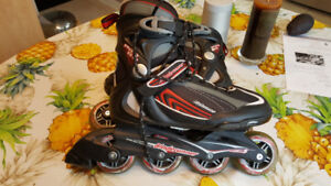 Boys  skates size 6.5 and gear for only $40