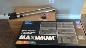 NIB> 384pc MAXIMUM Socket & Tool Set +Torque-wrench $500 OBO