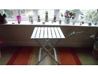 Aluminium Small Folding Garden Table (brand new)