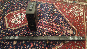 53 Inch SHARP Speaker bar & Subwoofer - 100% Tested and Working