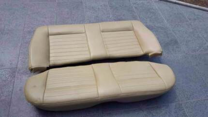 Holden VL Commodore Beige Leather Interior Seat + Trims + Leather