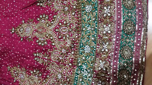 SHADDI WEDDING LENGHA FISHTAIL PAKISTANI/INDIAN OUTFIT - $1200 0