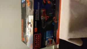 Black and Decker drill and saw