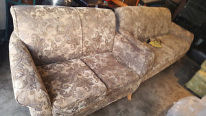 URBAN BARN COUCH AND LOVESEAT. DELIVERY IS EXTRA