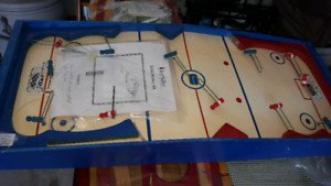 Vintage table top Hockey Game
