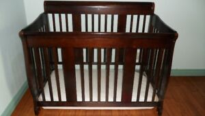 GENTLY USED CRIB AND MATTRESS