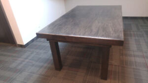 POOL TABLE / DINING  TOP ** 2 IN ONE HANDCRAFTED CUSTOM DESIGNED