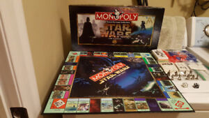 Star Wars Monopoly Classic Trilogy Edition - Year 1997- Complete