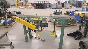 """Used Hytrol Conveyor 6' L x 6""""W belt T6"""