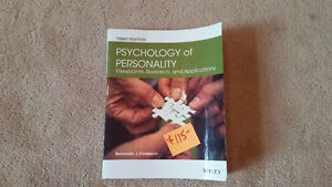 "RDC Textbook - Psychology of Personality"" (3rd Ed.)"