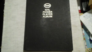 1970-71 Esso NHL Power Player Album (hard cover)