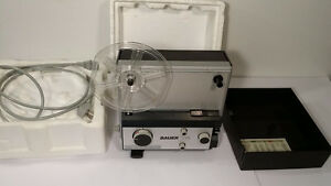 Bauer T5 Dual 8mm Movie Projector -