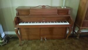 Fully reconditioned 1949 Henry Herbert Compact Piano