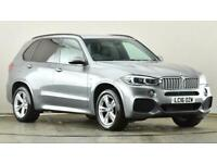 2016 BMW X5 xDrive40d M Sport 5dr Auto SUV diesel Automatic