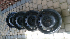 "6"" x 14"" Steel Rims 4 x 100 Bolt Pattern"