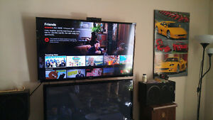 "HAIER 48"" WITH WALL MOUNT"