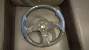 Aftermarket Momo Corse 350mm Steering wheel with hub