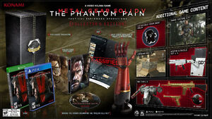 PS4 Metal Gear Solid V: The Phantom Pain Collector's Edition Kitchener / Waterloo Kitchener Area image 2