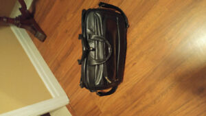 Kenneth Cole leather duffel bag