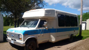 1990 Ford E-350 Handi-transit bus conversion currently outfitted
