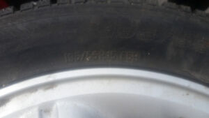 Acura or Honda tires with mags 195/55/15