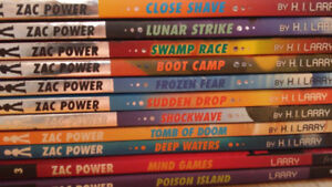 11 Zac Power books for only $10 in total