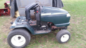 Lawn tractors and mowers, rototillers, snowblowers