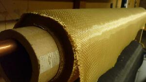 Kevlar Fabric 2 x 2 Twill - 30 yds Yellow