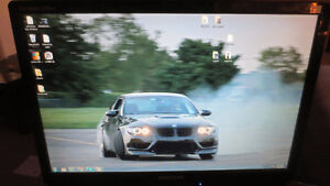 "Samsung SyncMaster 2220wm Monitor Screen 22"" LCD"