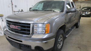 CLEAN 2009 GMC 4x4 EXT CAB  CERT & WARRANTY 1 OWNER