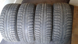 4 - Michelin X ice. 205/50R 16. $140. call 819-230-9767