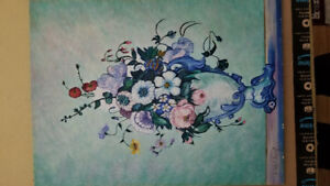 24x18 Flower painting