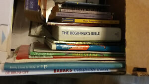 various lots of books for sale! euc!