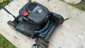 "Murray 20"" self propelled lawnmower, front drive mower"