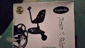 Stroller add-on sit and stand seat/platform and handlebar extend Peterborough Peterborough Area image 1