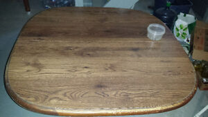 Oak table..no chairs